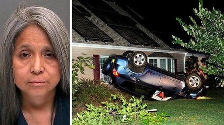 Deisy Atahua, 51, of Islandia was charged with