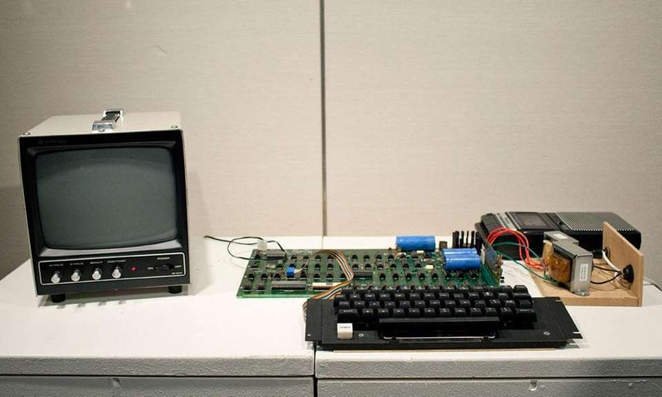 The Apple I computer began sales in July