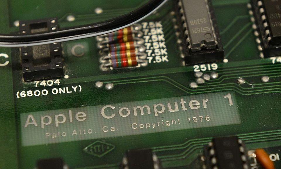 Steve Wozniak built all of the Apple I
