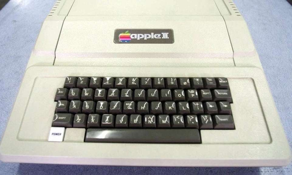 Apple's second offering was the Apple II, which
