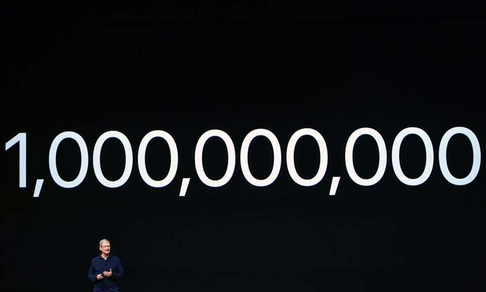 In July 2016, Apple announced it had sold
