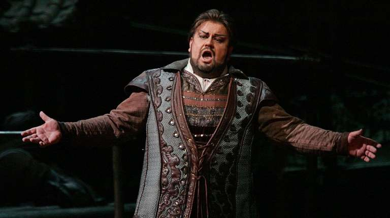 South African tenor Johan Botha sings the role