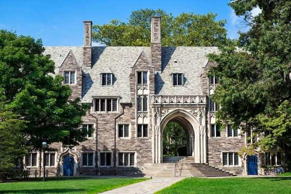 Lockhart Hall at Princeton University is seen in