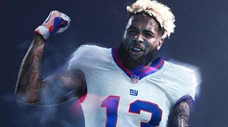 Odell Beckham Jr. models the new Nike Color