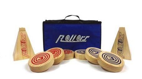 Rollors comes in a convenient carrying bag.