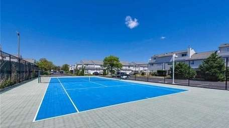 This is one of two tennis court at