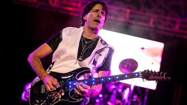 Steve Vai performs during the 36th Guitar Festival
