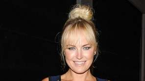 Malin Akerman appears at the Zac Posen Spring