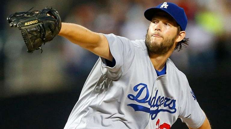 The Dodgers' Clayton Kershaw will make his first