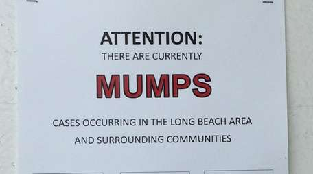 The Nassau Health Department has asked stores and