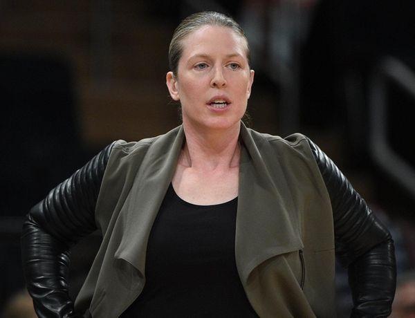 New York Liberty associate head coach Katie Smith