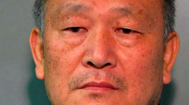 Yong Lin, 60, of Great Neck, was arrested