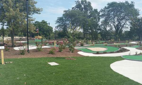 A new nautical-themed mini-golf course opened at Wantagh