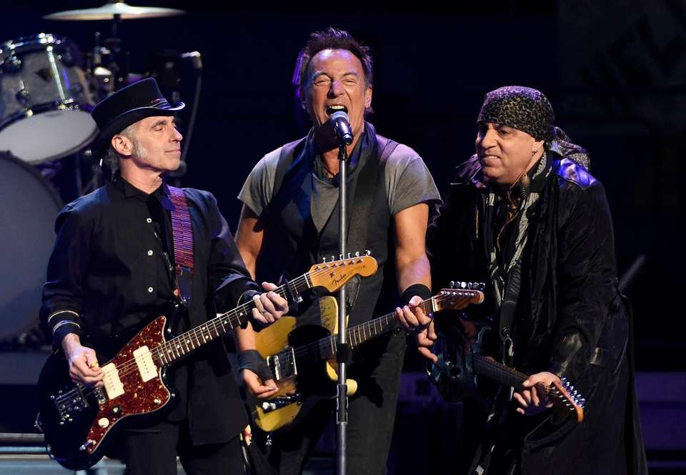 On March 15, 2016, Bruce Springsteen performs with