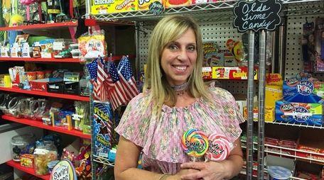 Phyllis Carluccio owns Olde Pop Shop in Lynbrook