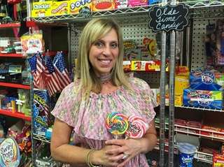 Phyllis Carluccio owns Olde Pop Shop in Lynbrook