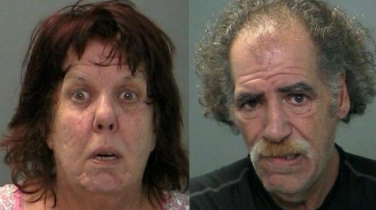 Pamela Visconti, 58, and husband Stephen Visconti, 57,
