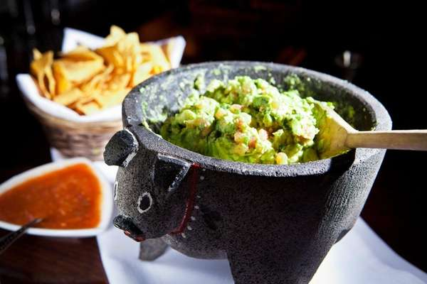 Mexican restaurant Besito in Huntington serves fresh guacamole