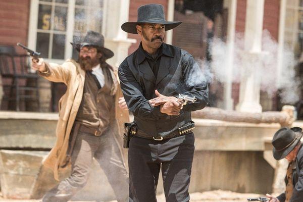 Denzel Washington stars as the bounty hunter who