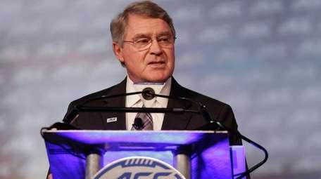 Commissioner John Swofford announces an ACC/ESPN Network during