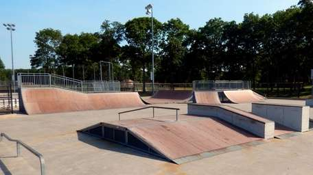 The Town of Riverhead Skate Park in Riverhead