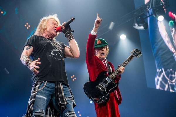 Ac Dc Axl Rose Concert At Madison Square Garden Memorable Newsday