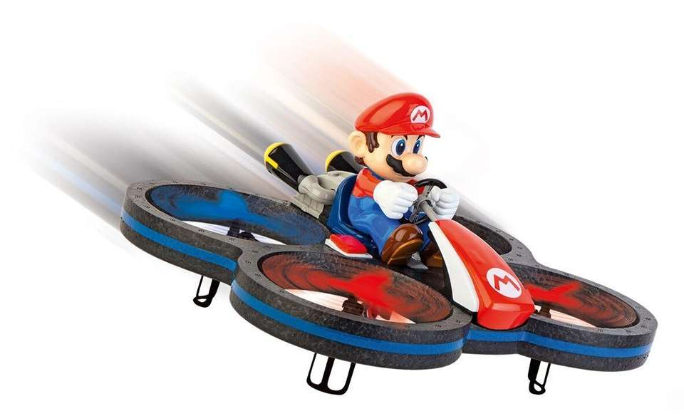 Based on MarioKart 8, it features a six-axle