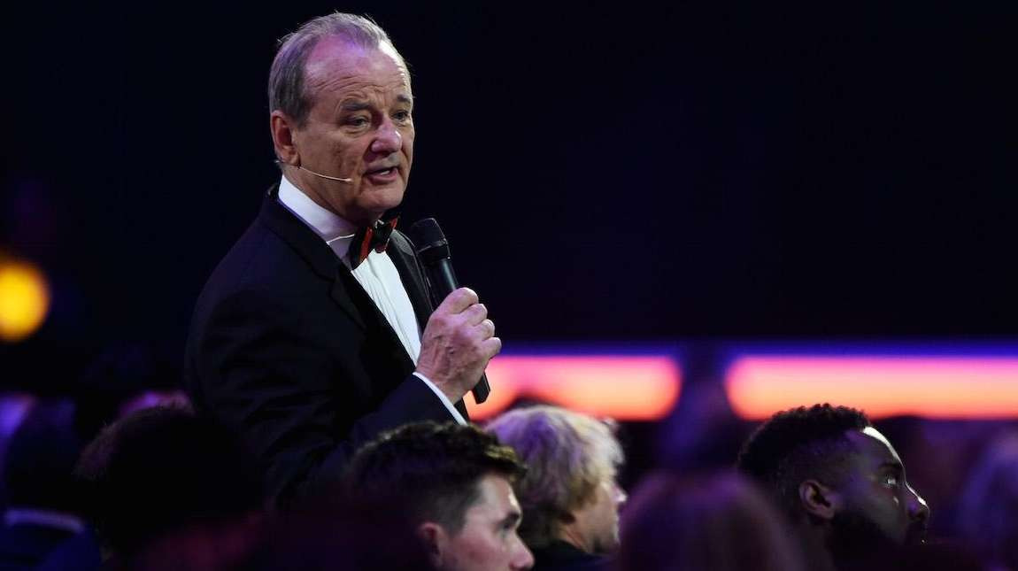 Bill Murray will bartend at his son Homer