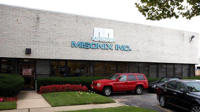 Misonix, Inc. in Farmingdale, NY, Sept. 11, 2014.
