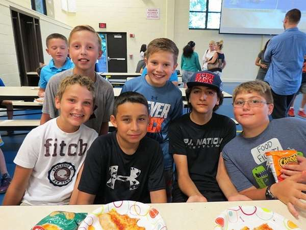 Incoming sixth-graders at Port Jefferson Middle School were