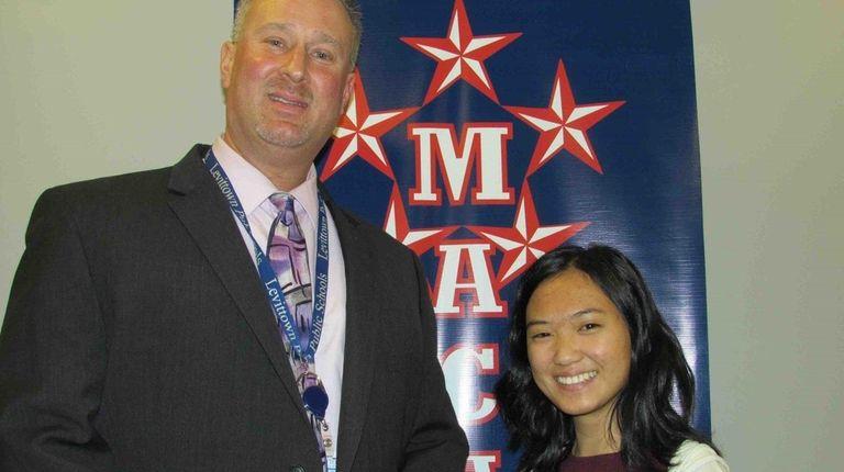 Hannah Grunfeld, a junior at MacArthur High School