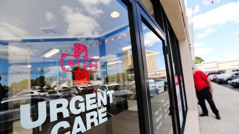 The exterior of new AFC Urgent Care Center