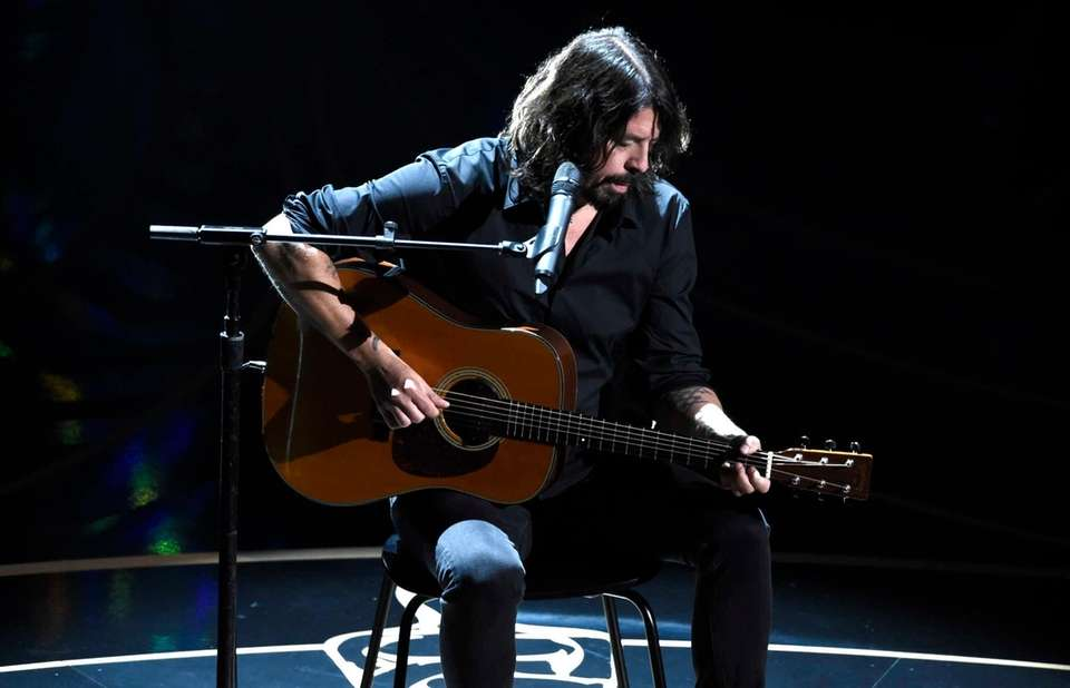 Dave Grohl performs during the