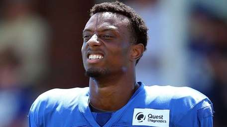 New York Giants rookie cornerback Eli Apple was