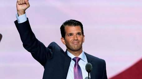 Donald Trump Jr. was busy recently, talking about