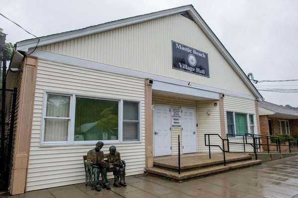 Mastic Beach Village Hall is seen Oct. 2,