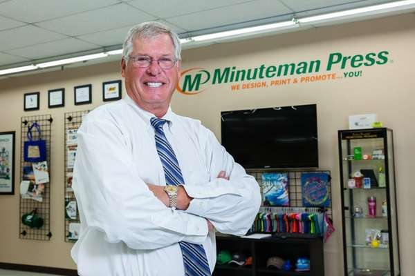 President and chief executive of Minuteman Press Bob