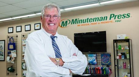 President and chief executive of Minuteman Press Bob