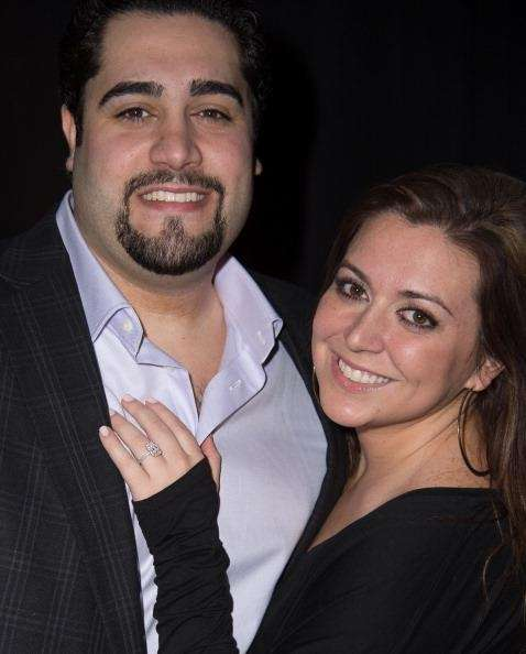 Lauren Manzo Scalia and husband Vito Scalia married