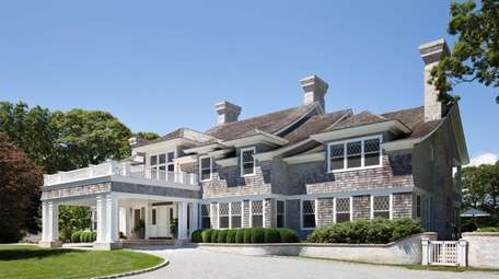 This East Hampton home, called The Pond House,