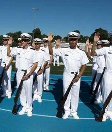 U.S. Merchant Marine Academy Plebe Candidates during the