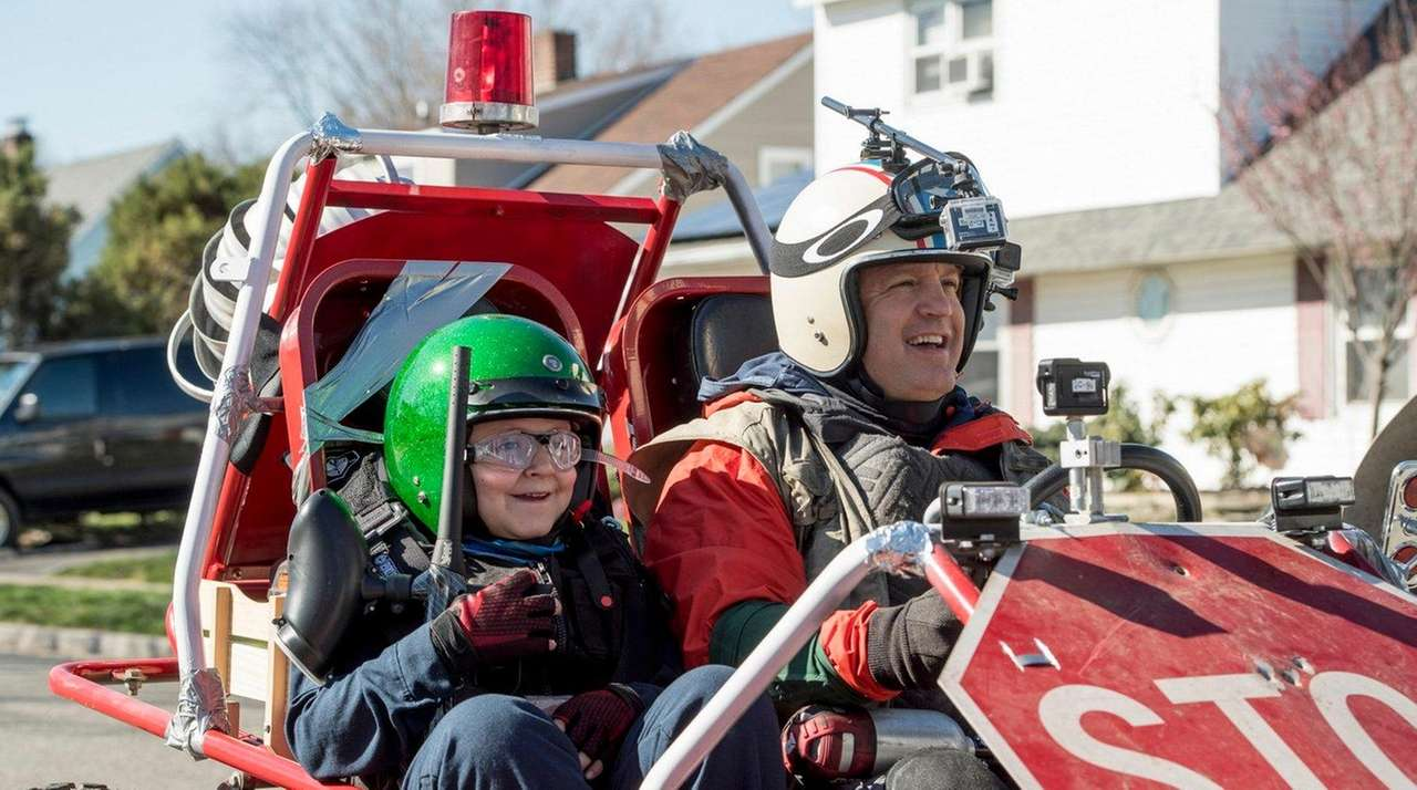 James DiGiacomo and Kevin James in the new