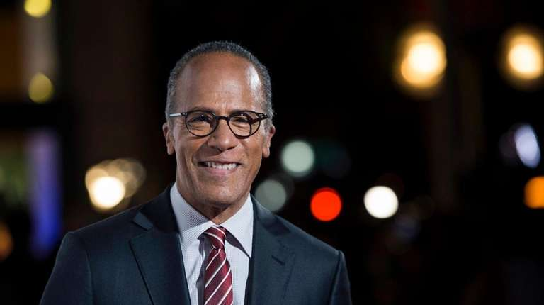 NBC Nightly News anchor Lester Holt will moderate