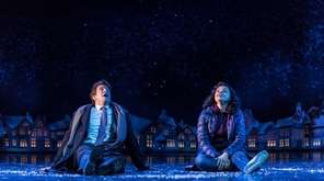 Andy Karl and Rita Hanson in the London