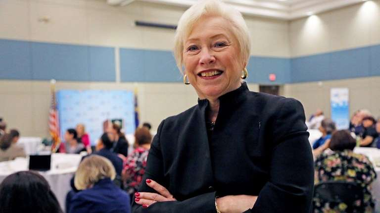 SUNY Chancellor Nancy Zimpher was at SUNY Old
