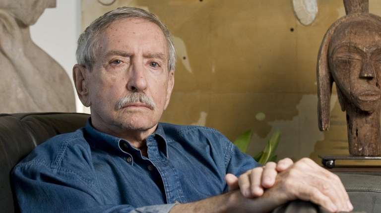 Playwright Edward Albee at his home in Montauk