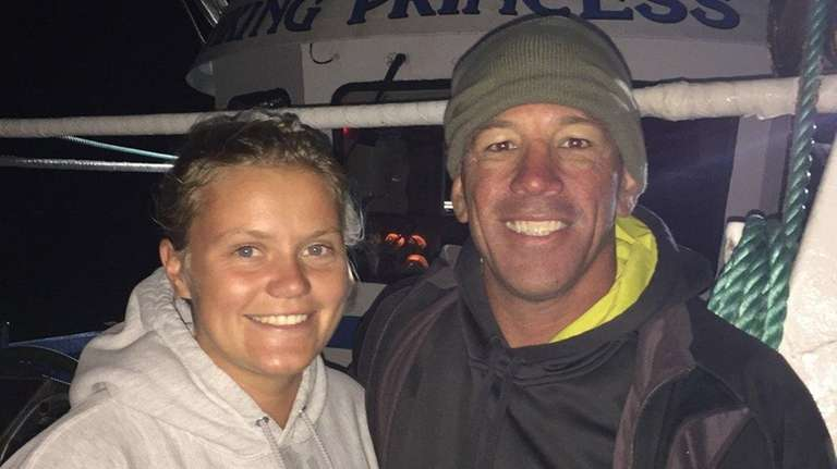 Catherine Darcy, left, and FDNY firefighter Richard Wilde,