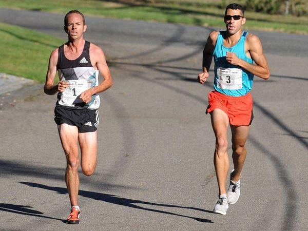 Aaron Braun, left of Flagstaff, Arizona, and Stephen