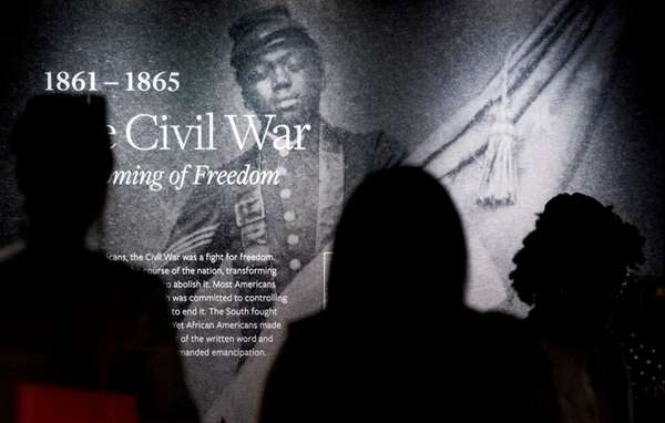 An inaugural exhibit at the new National Museum
