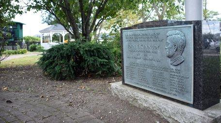 Kennedy Park, named for President John F. Kennedy,